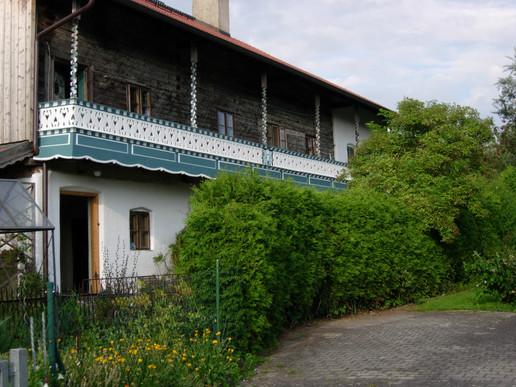 Restaurierung Balkon, Niederbayern