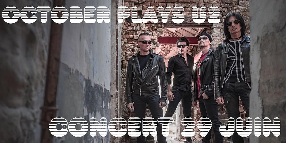 Concert - October Plays U2