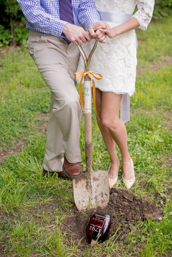 Don't Forget to Bury the Bourbon! - Southern Wedding Traditions