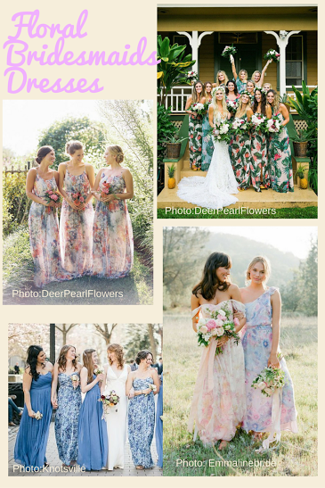 Floral Bridesmaids Dresses - Yay? Or Nay?