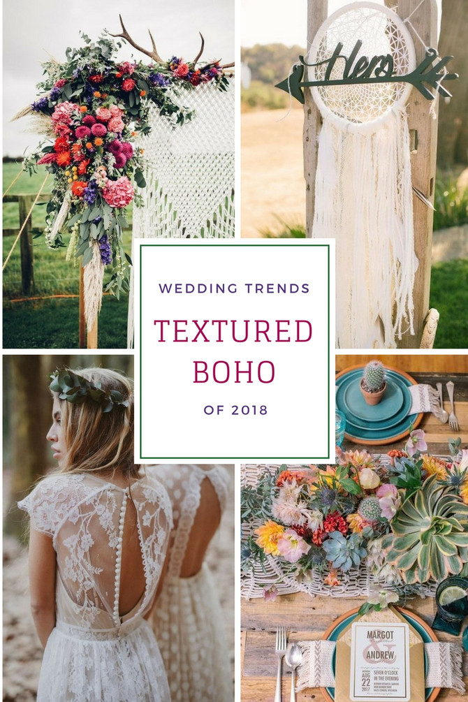 Textured Bohemian Trends of 2018