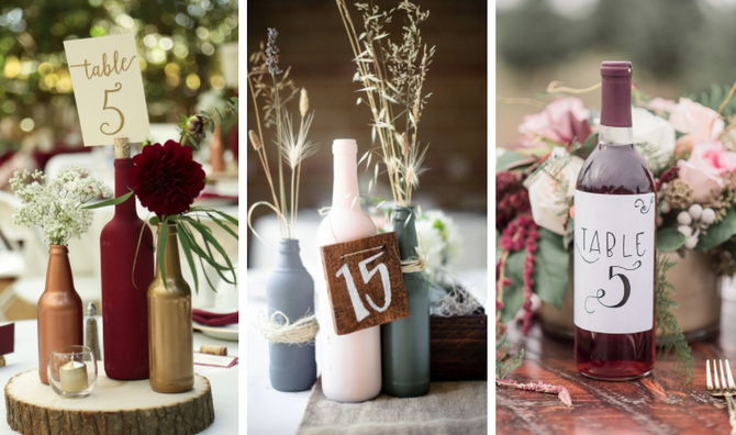 Wine-Inspired Wedding Decor