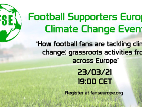 HTSA Joins European Fans' Groups to Discuss Sustainable Stadium Campaign