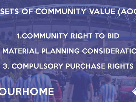 #OurHome: John Smith's Stadium Now Listed as an Asset of Community Value