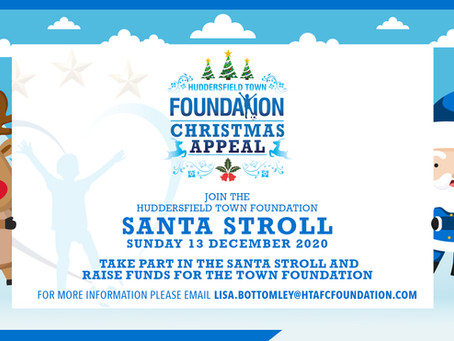 Santa Stroll Event Gives Families Chance to Support the Town Foundation | #FansForTheFoundation