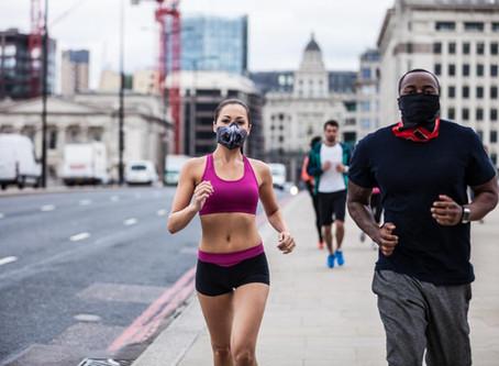Cosa accade durante l'allenamento con la mascherina?