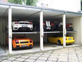 В гараж дороги нет