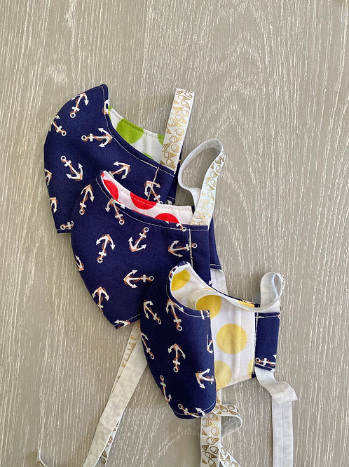 FACE MASK in Navy Anchors