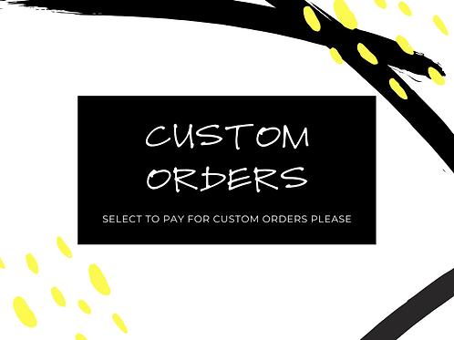 Custom Order FACE MASK