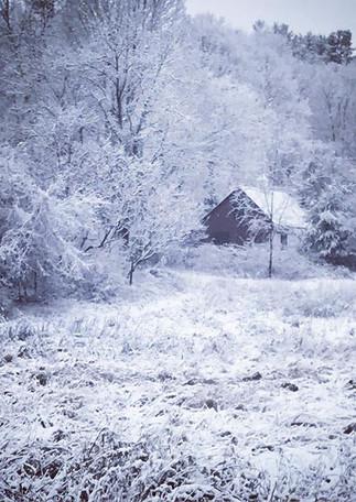 #bluemorning #commuter #snowfellonthemou