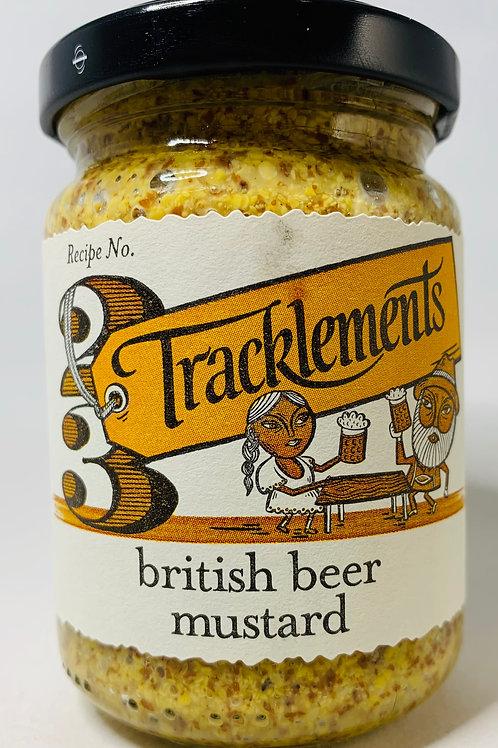 British Beer Mustard Robust Wholegrain Mustard (Vegetarian, Vegan, Gluten Free)