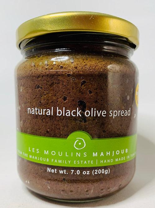 Organic Black Olive Spread Moulins Mahjoub 200g