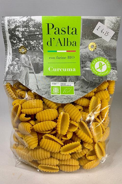 Organic artisan gluten-free turmeric and whole rice Gnocchetti (250g)