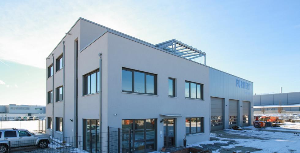 Bürogebäude mit Werkstatt, Rheinstetten