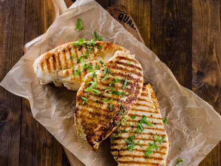 Perfectly moist chicken breasts