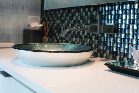 Bathroom Remodel Backsplash General Contractor