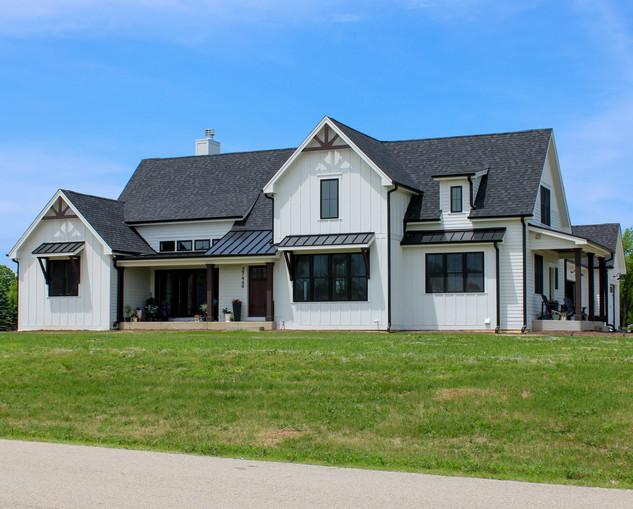 Custom Home Exterior in Wheatland Wisconsin