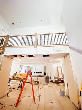 Interior Work in Progress