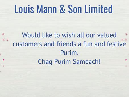 Chag Purim Sameach!