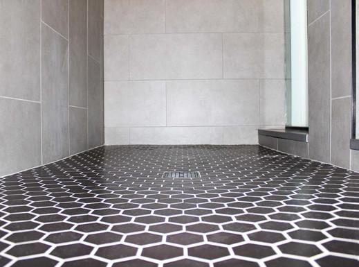 Bathroom Tile Remodel in Racine County