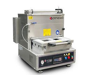 TKM 300 COMPACTYarı Otomatik Tabak Kapama Makinesi
