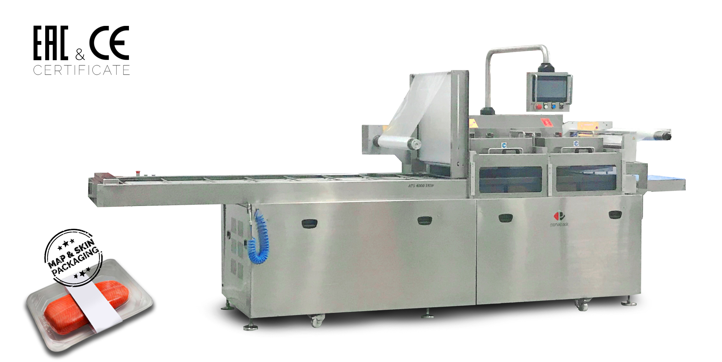 ATS 4000 SRW Automatic Tray Sealers for
