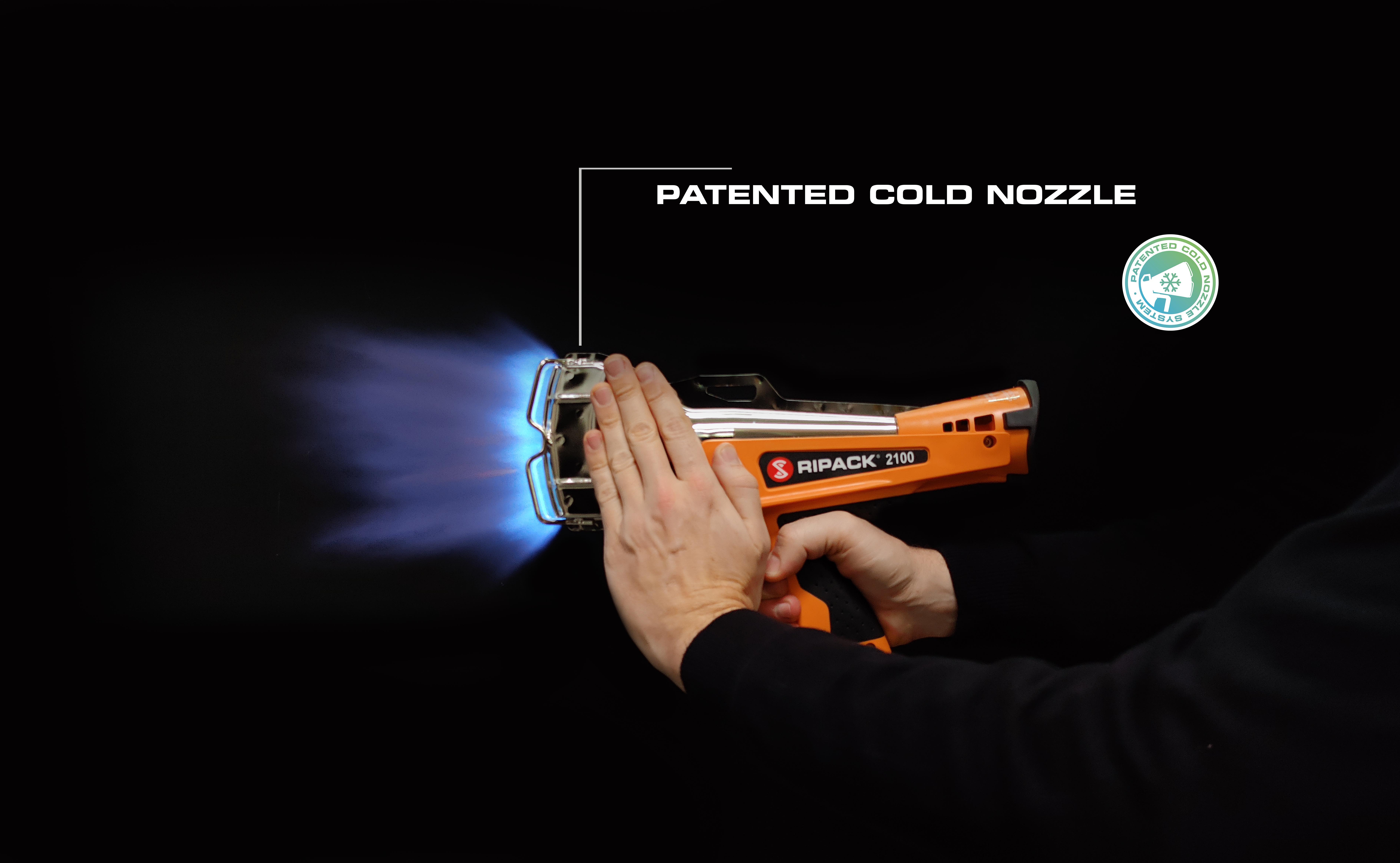 Ripack 2100 Shrink Isı Tabancası Patentli Soğuk Başlık Teknolojisi