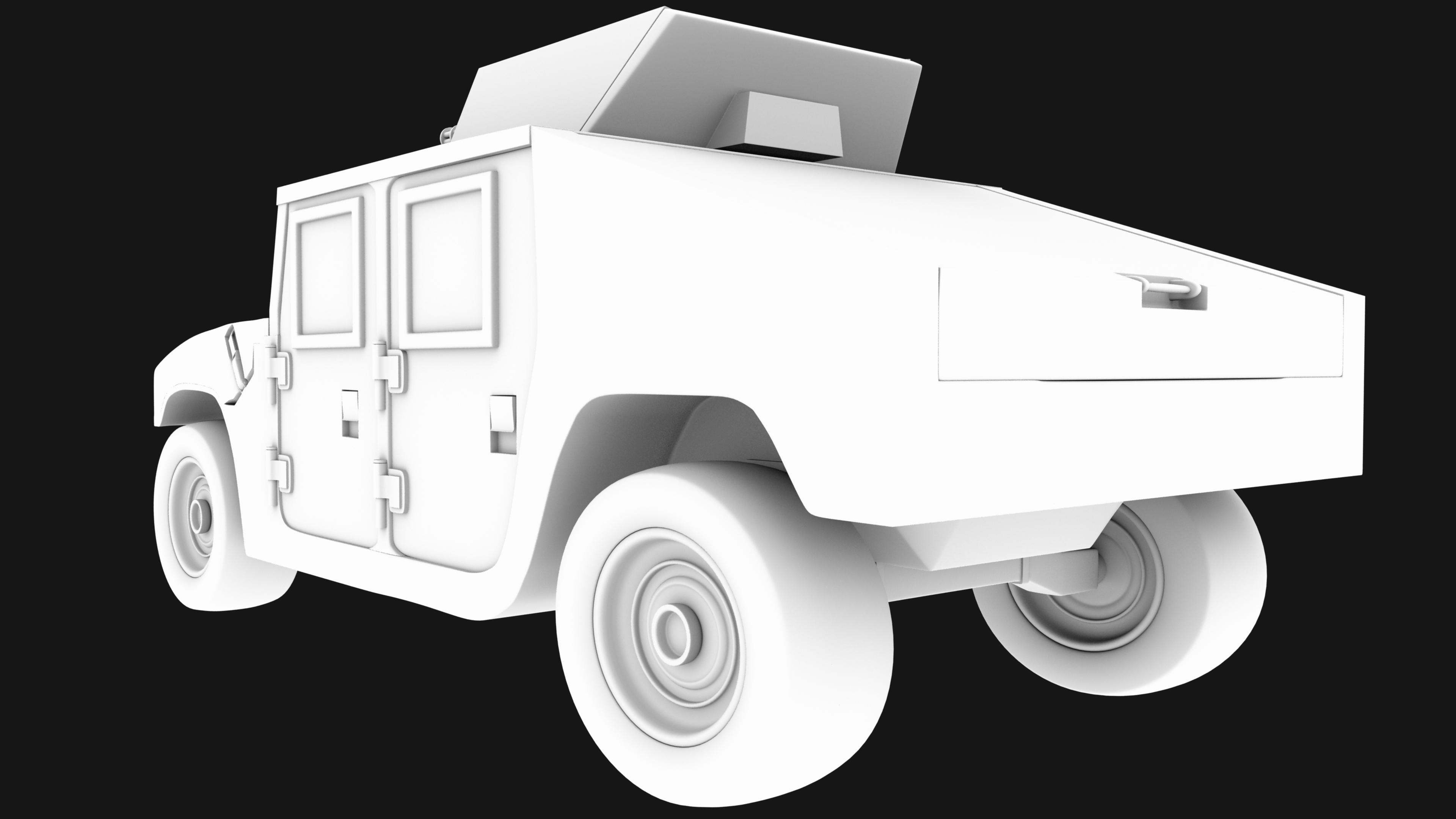 Humvee Rear