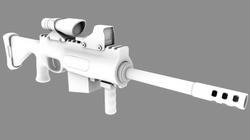 Kit-bash Assault Rifle
