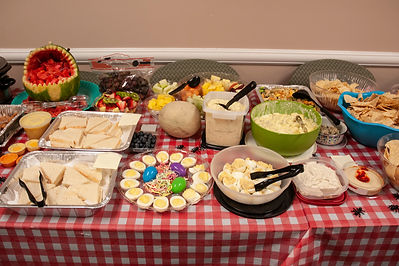Spread at Spring Office Luncheon.jpg