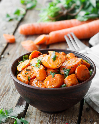 Caramelized carrots with cilantro.jpg