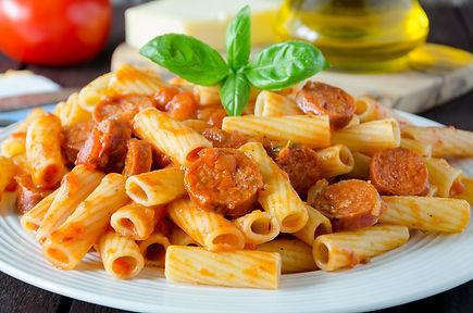 Pasta with Chorizo sausage.jpg