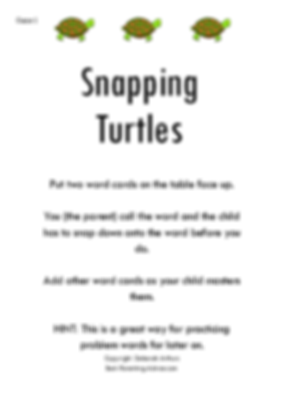 Sanpping Turtle Page 1 debs copyright_ed