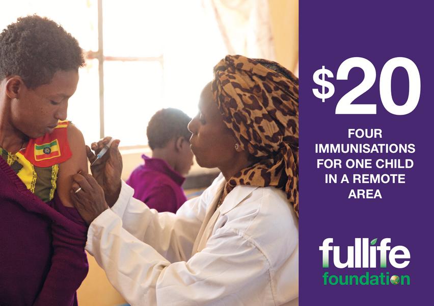 $20 Child Immunisations