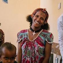 World Vision Fullife Foundation Ethiopia Samre Happy Woman