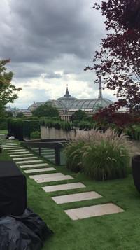 conception d'un toit parisien 8 ème
