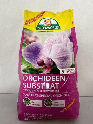 terre à orchidées