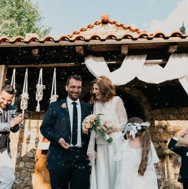 Φωτογραφηση γάμου στο Κτήμα Λίκνο