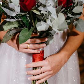 wedding photography-ανθοδέσμη