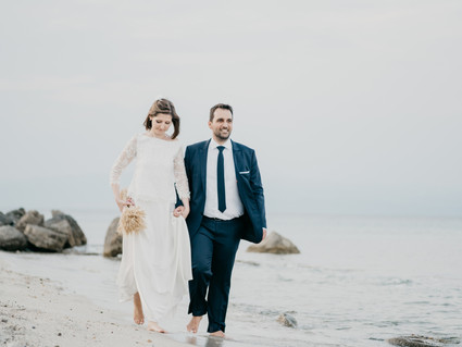 Minimal and Chic Φωτογράφιση Γάμου στο Κτήμα Λίκνο
