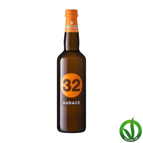 vegan beer Audace craft beer brewed by Italians, 32 Via dei Birrai multi-awarded brewery craft