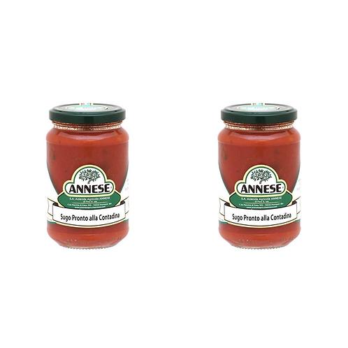 Contadina ready made sauce from Apulia Italy (Box of 2x 350g)