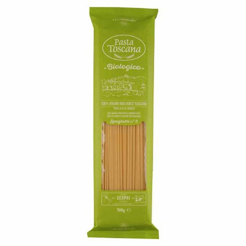 buy Spaghetti organic Pasta Toscana bronze drawn online shop