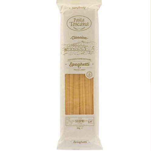 Spaghetti Pasta Toscana bronze drawn Italian classic shop online with worldwide delivery how to cook recipes