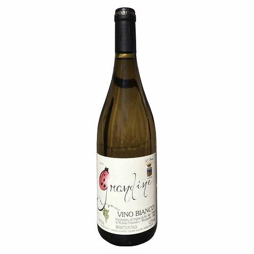 grandine l'aietta white wine brunello montalcino passito tuscany shop online Italian winery
