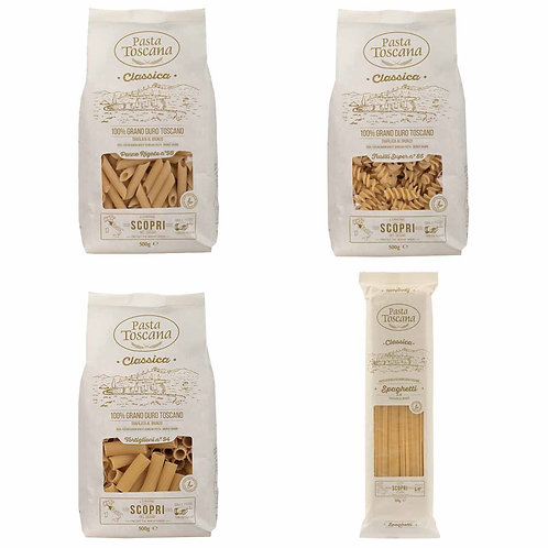 Pasta Toscana bronze drawn Italian classic shop online with worldwide delivery how to cook recipes
