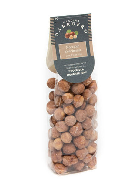 buy Toasted Hazelnuts Sugared with Cinnamon IGP Piedmont online