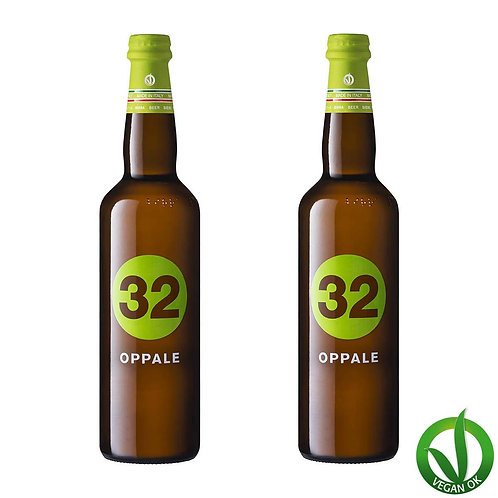oppale italian vegan craft beer 32 via dei birrai brewed by italian microbrewery awarded