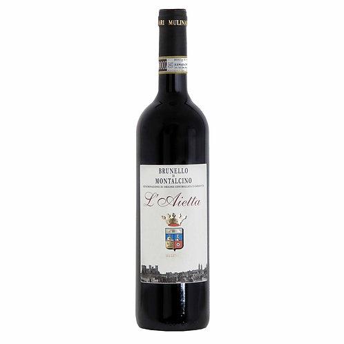 L'Aietta Mulinari Brunello di Montalcino DOCG 2015 Top quality Italian Red Wine shop online delivery