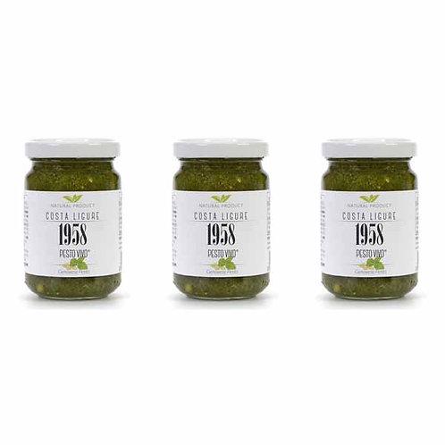 Genoese Basil Pesto Vivo Costa Ligure 1958 Ready Made Sauce